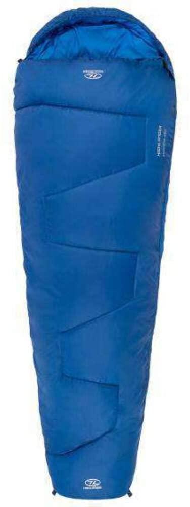 Highlander Sleepline 250 Mummy Sleeping Bag Blue