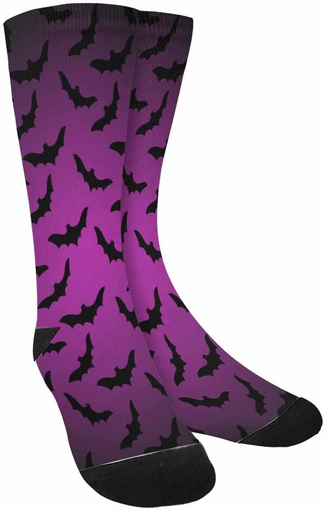 INTERESTPRINT Funny Cute Novelty and Cool Sublimated Crew Socks Unisex