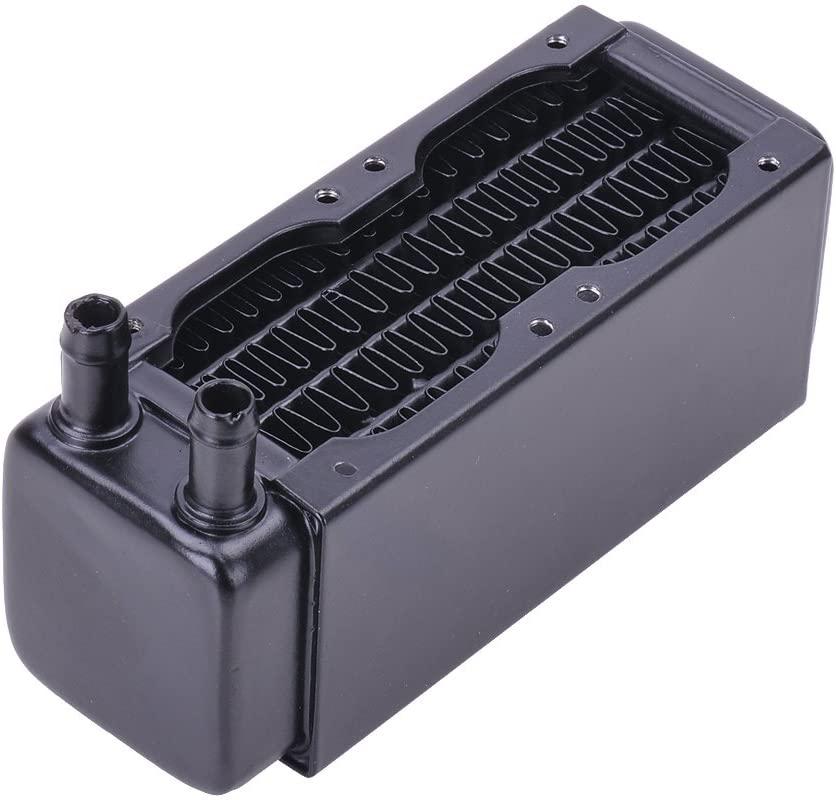 Alphacool 14209 NexXxoS XT45 Full Copper 40mm Dual Radiator Water Cooling Radiators