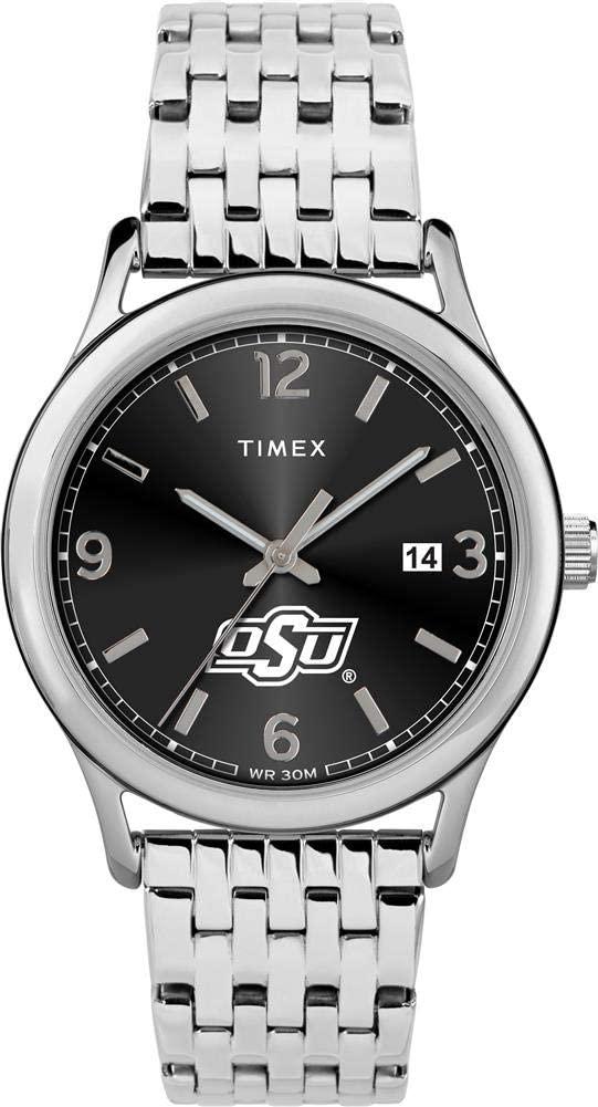 Timex Women's Oklahoma State University Watch Sage Stainless Watch