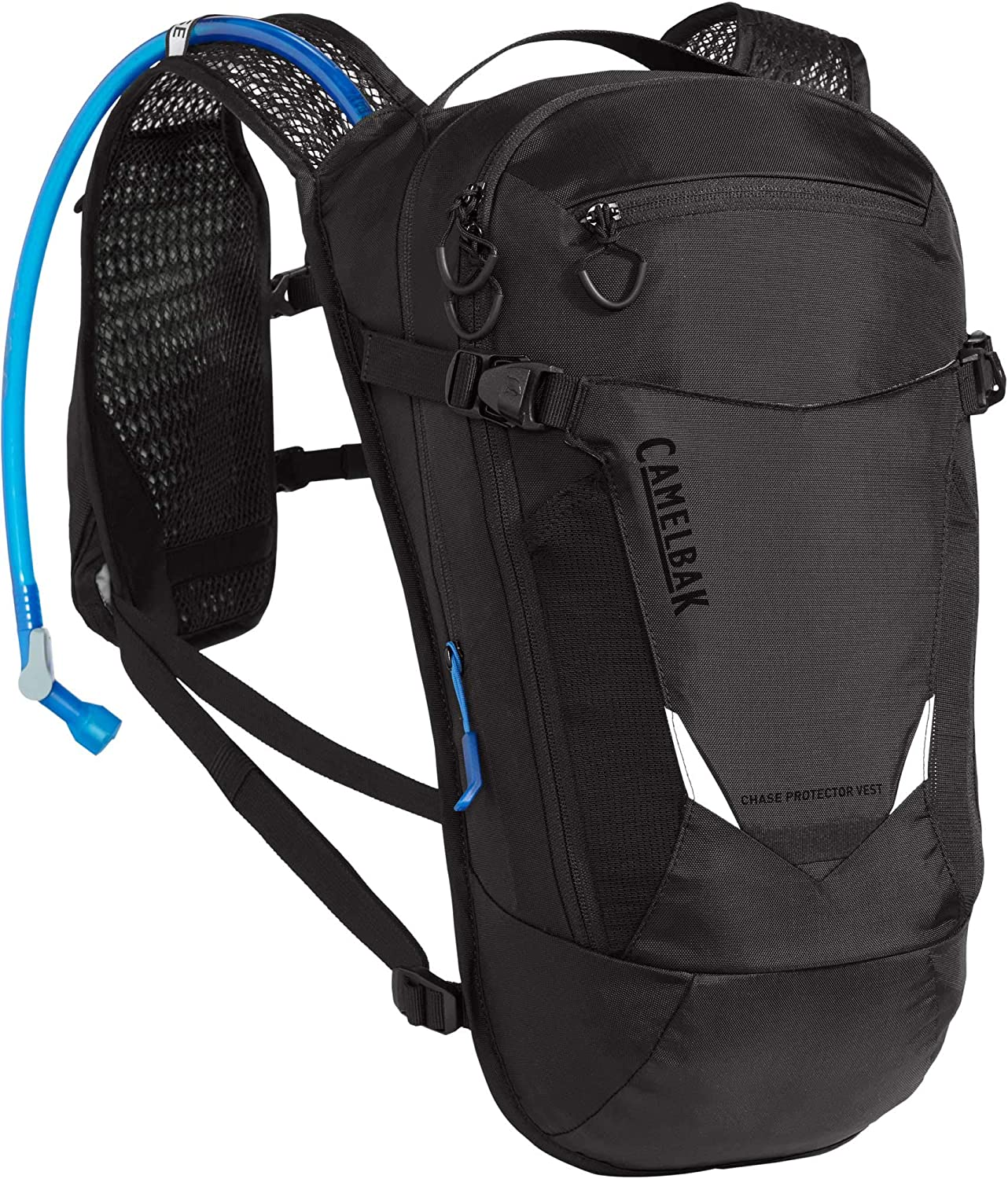 Chase Protector Bike Hydration Vest - Center Back Impact Protection - 70 oz