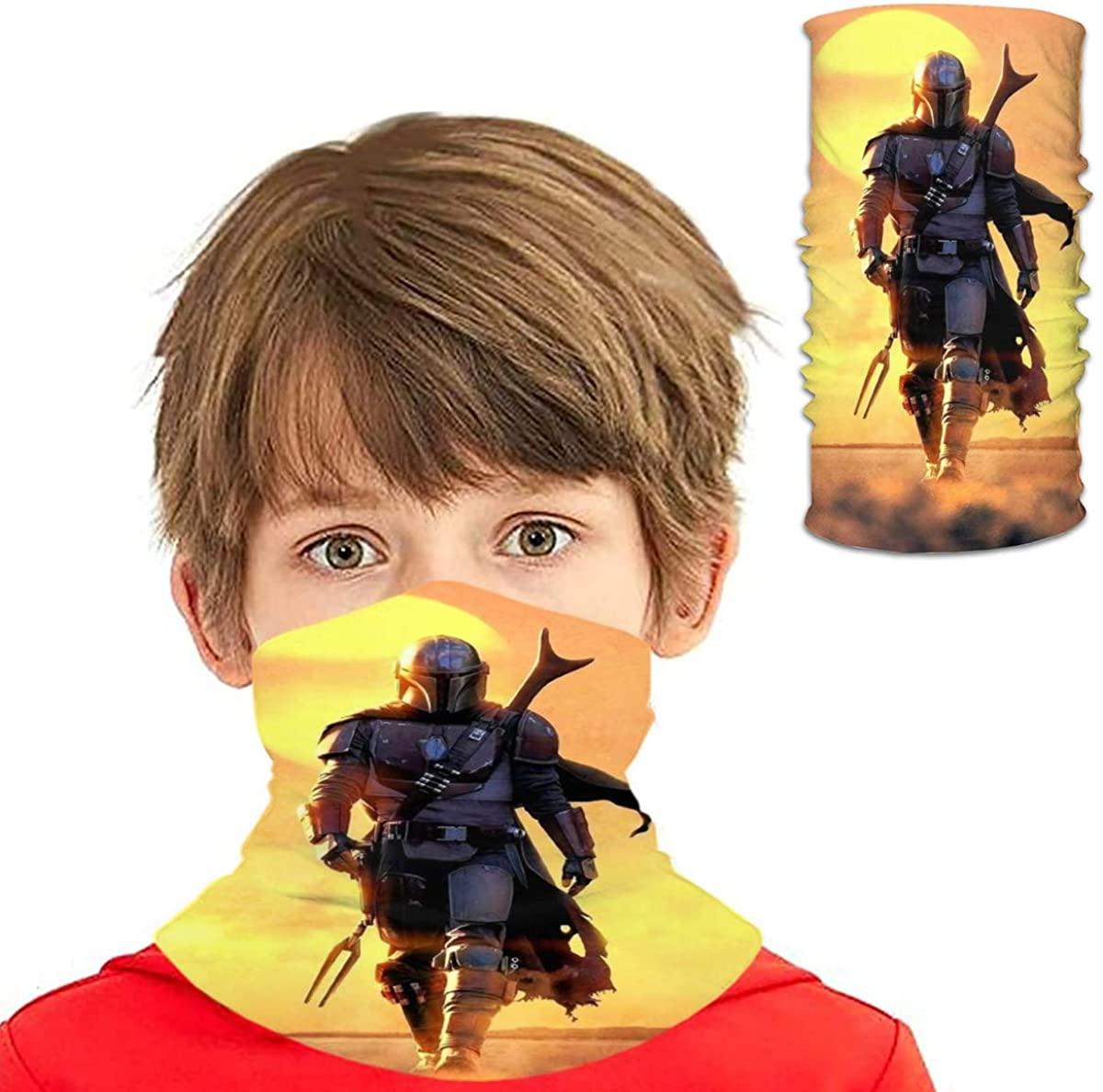 Multifunctional Face Cover Bandana Neck Gaiter Balaclava for Dust Outdoor Sports Kid/Men/Women