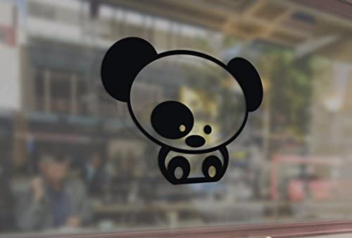 25 Centimeters JDM Style Panda Art Vinyl Stickers Funny Decals Bumper Car Auto Computer Laptop Wall Window Glass Skateboard Snowboard Room Tuning Drift
