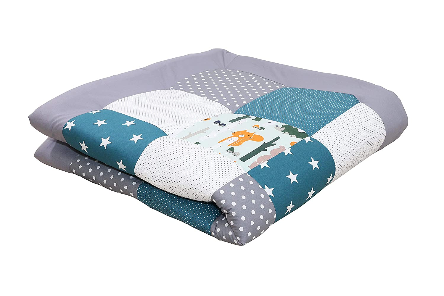 """Soft Padded Baby Play Mat by ULLENBOOM 