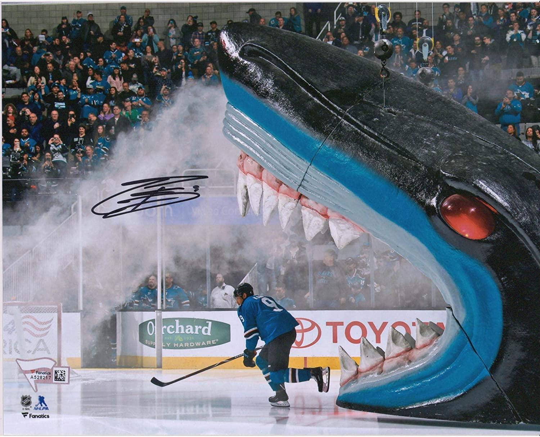 Evander Kane San Jose Sharks Autographed 8