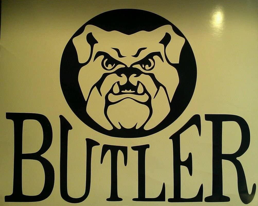 Buttler Bulldogs Cornhole Decals - 2 Cornhole Decals