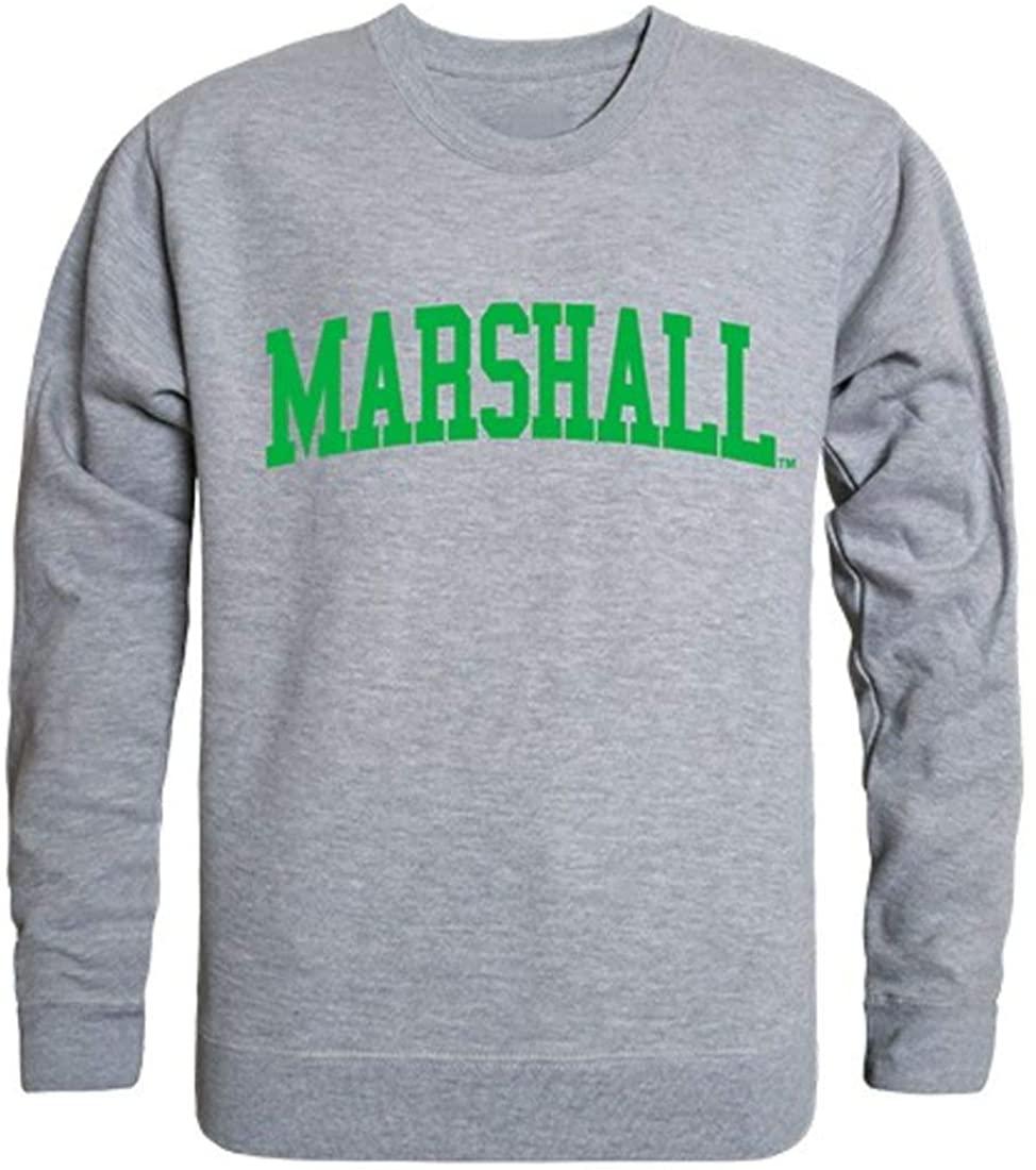 Marshall University Game Day Crewneck Pullover Sweatshirt Sweater