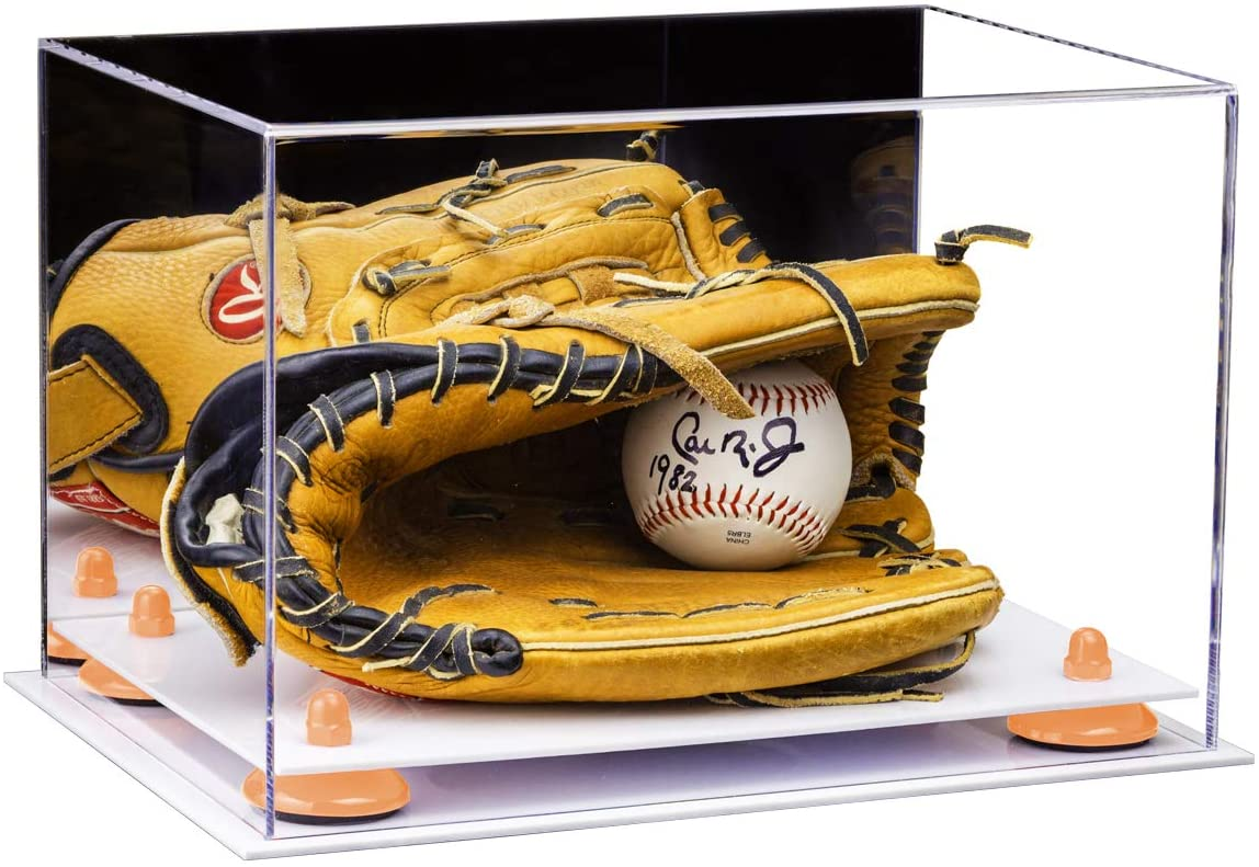 Better Display Cases Acrylic Baseball Glove Display Case