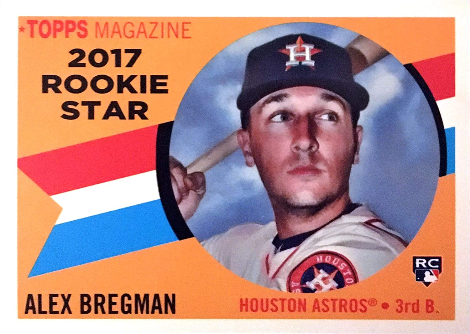 2017 Topps Archives 1960 Rookie Stars #RS-10 Alex Bregman RC