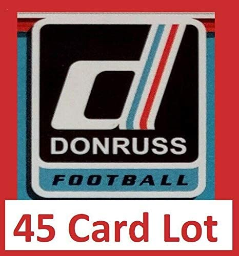 Larry Fitzgerald 2017 Donruss Football 45 Card Lot Arizona Cardinals #21 - Unsigned Football Cards