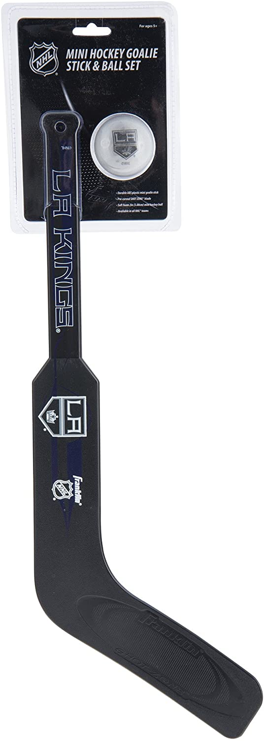 NHL Franklin Sports Team Mini Hockey Goalie Stick Set