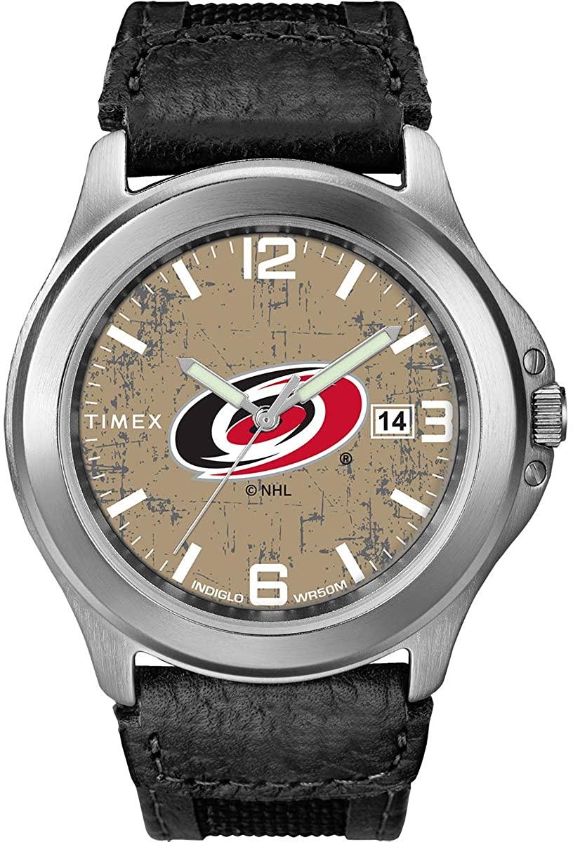 Timex Men's TWZHHURMC NHL Old School Carolina Hurricanes Watch