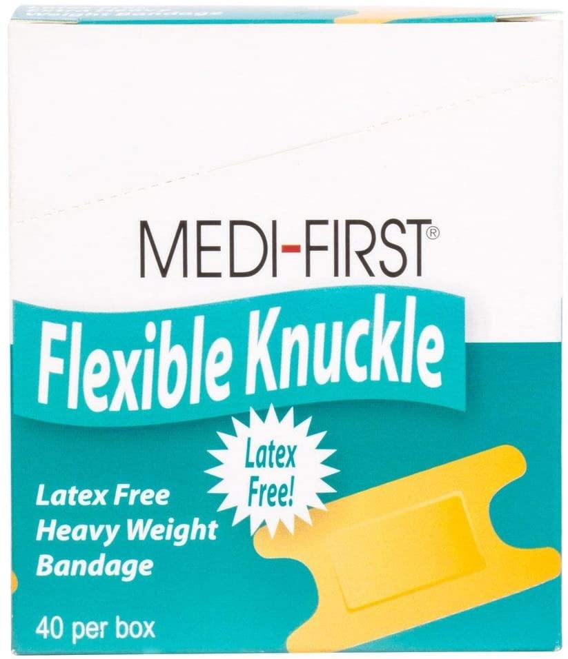Fabric Knuckle Bandaid, Adhesive Strip Bandages, 1280 Pack