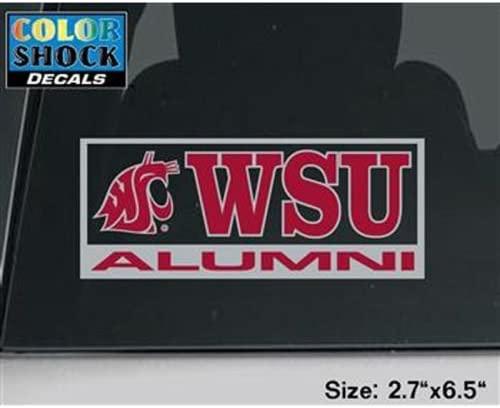Washington State Cougars Decal - Alumni
