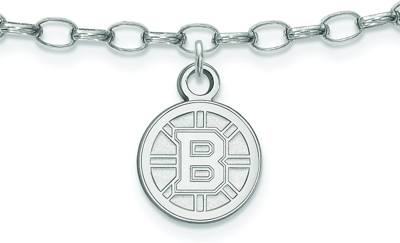 Boston Bruins Anklet (Sterling Silver)