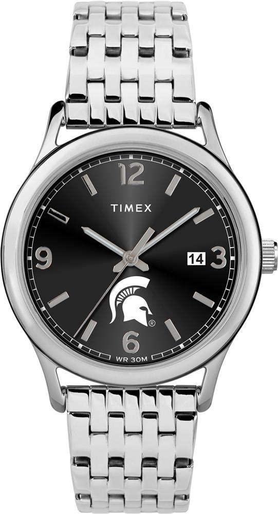 Timex Women's Michigan State University Watch Sage Stainless Watch
