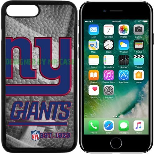 Giants New York Football New Black Apple iPhone 7 Plus Case By Mr Case