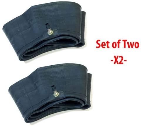 SET OF TWO: Motorcycle Tire Inner Tube 3.25/3.50-19   90/90-19   110/80-19 - TR4 Straight Valve Stem