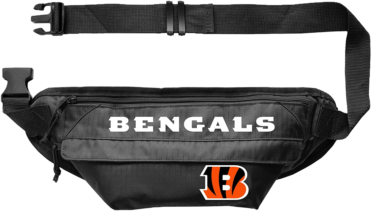 Littlearth NFL unisex-adult Nfl Large Fanny Pack - Waist Pack - Hip Bag