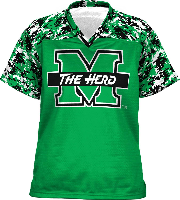 ProSphere Marshall University Girls' Football Jersey (Digital)
