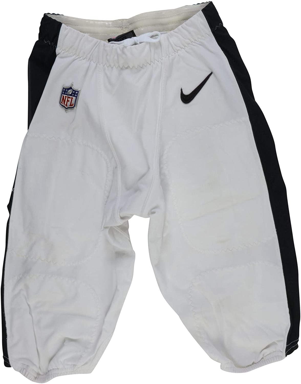 Tre Sullivan Philadelphia Eagles Game-Used #37 White Pants vs. Carolina Panthers on October 21, 2018 - Size 30 - NFL Game Used Items
