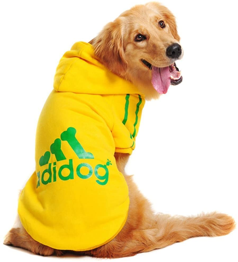 GabeFish Pets Dogs Clothes Hoodie Sports Cool Warm Puppy Cats Apparel T Shirts Jackets