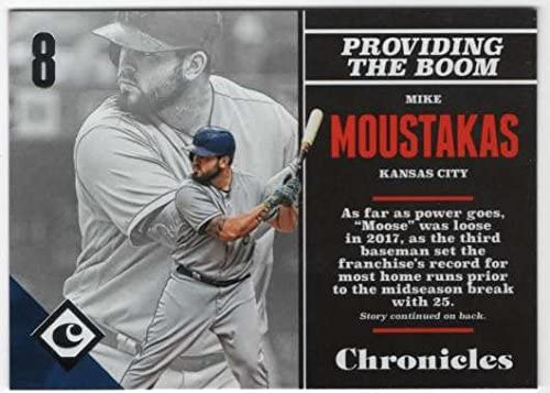 2017 Panini Chronicles Baseball #48 Mike Moustakas Kansas City Royals