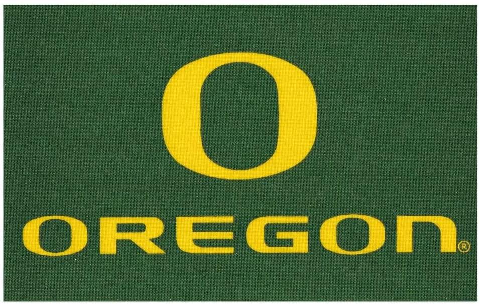 UBF Oregon Ducks Stick-on Cloth Flag Decal