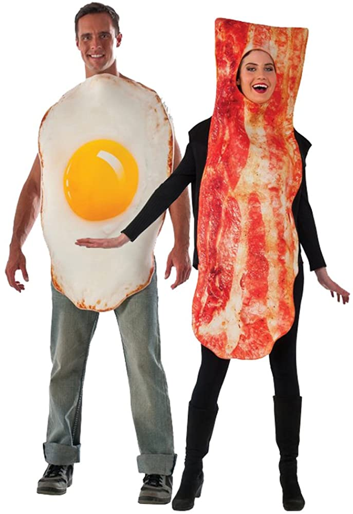 Adult Bacon and Egg Costume Set