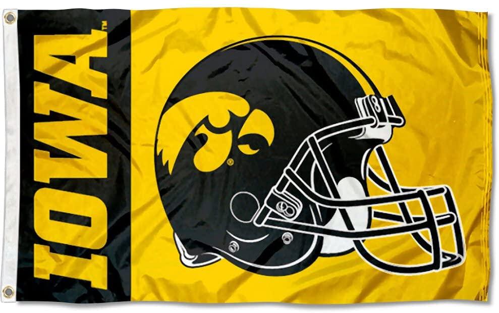 College Flags & Banners Co. Iowa Hawkeyes Football Helmet Flag