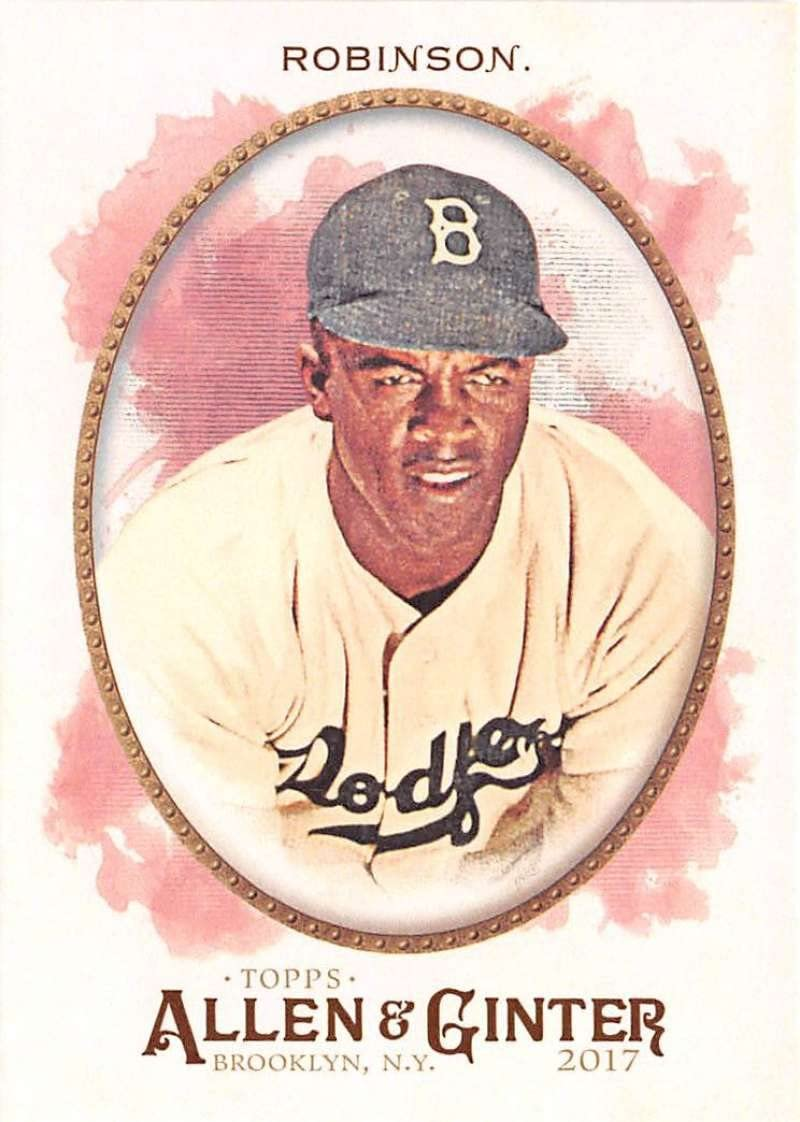 2017 Allen and Ginter #152 Jackie Robinson NM-MT Dodgers