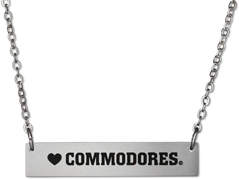 Fan Frenzy NCAA Vanderbilt Commodores Bar Necklace