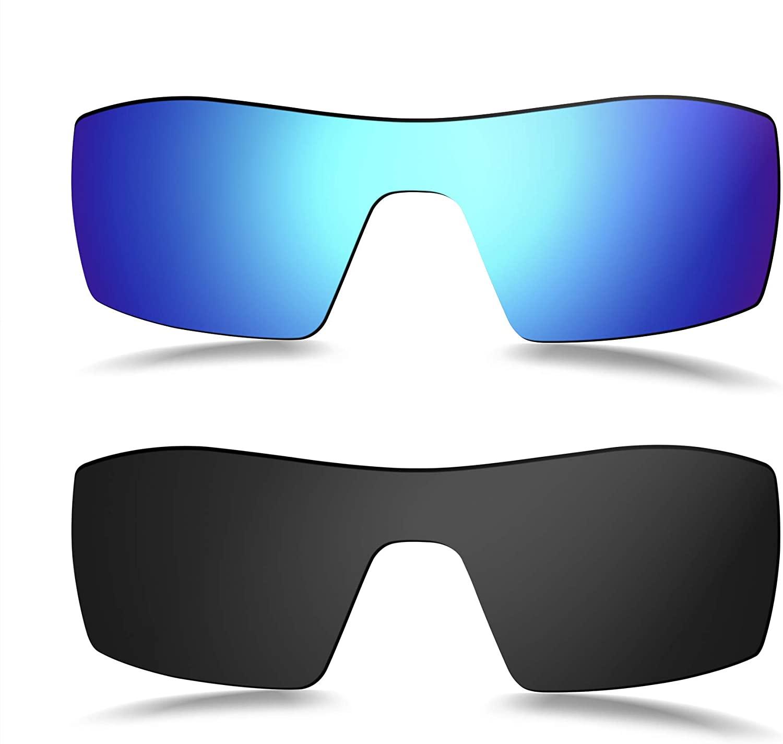 Prizo Polarized Replacement Lenses for Oakley Oil Rig Sunglasses - Multi Options