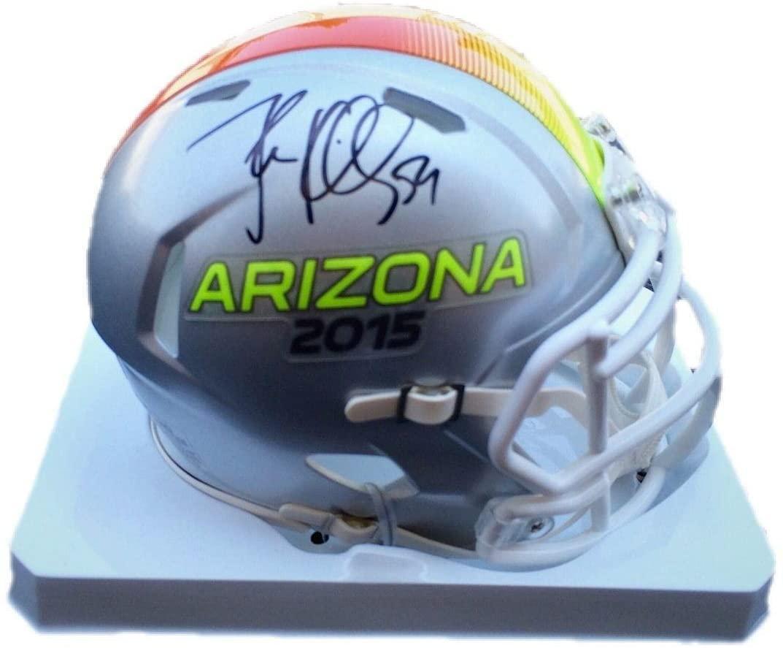 Luke Kuechly 2015 Pro Bowl (Arizona) Signed Mini Helmet Jsa - Autographed NFL Mini Helmets