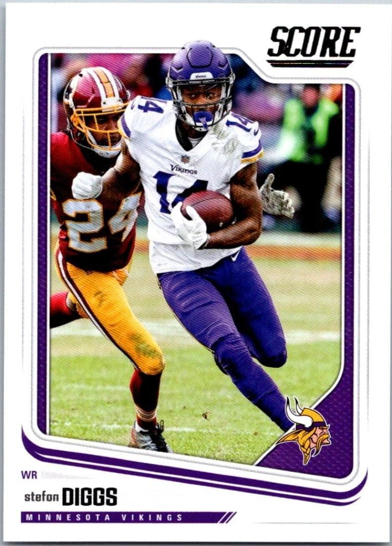2018 Score #199 Stefon Diggs Minnesota Vikings Football Card