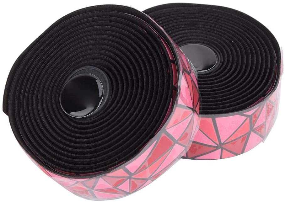 2 Roll Bicycle Handlebar Tape, CX-86 Bicycle Anti-Skid Handlebar Tape Breathable Damping Bar Wrap Cycling Accessory