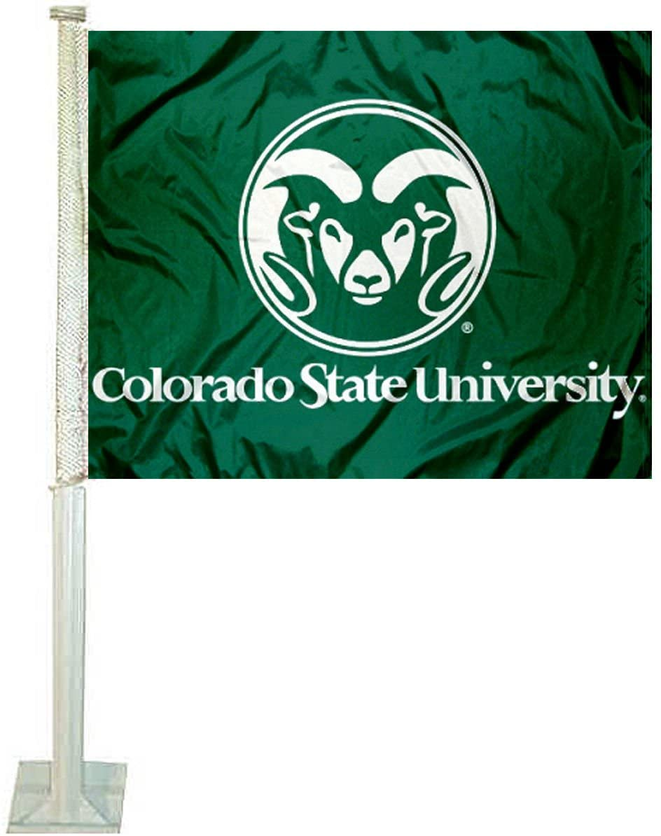 College Flags & Banners Co. Colorado State Rams Car Flag