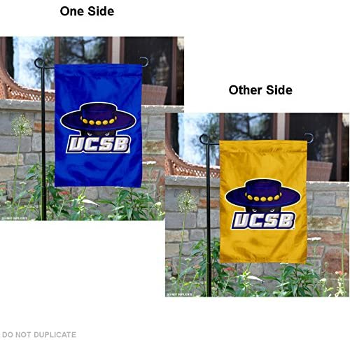 College Flags & Banners Co. UC Santa Barbara Gauchos Dual Logo Garden Flag