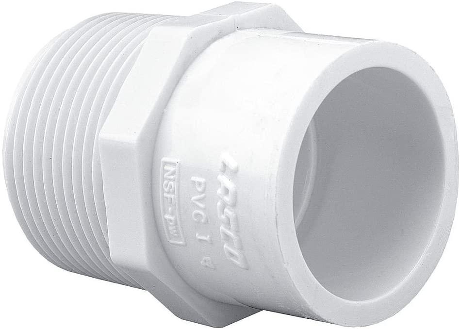 Schedule 40 PVC Pipe Mipt x Slip Reducing Male Adapter (1/2
