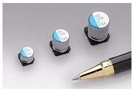 Aluminum Organic Polymer Capacitors 25V 470uF 20, Pack of 10