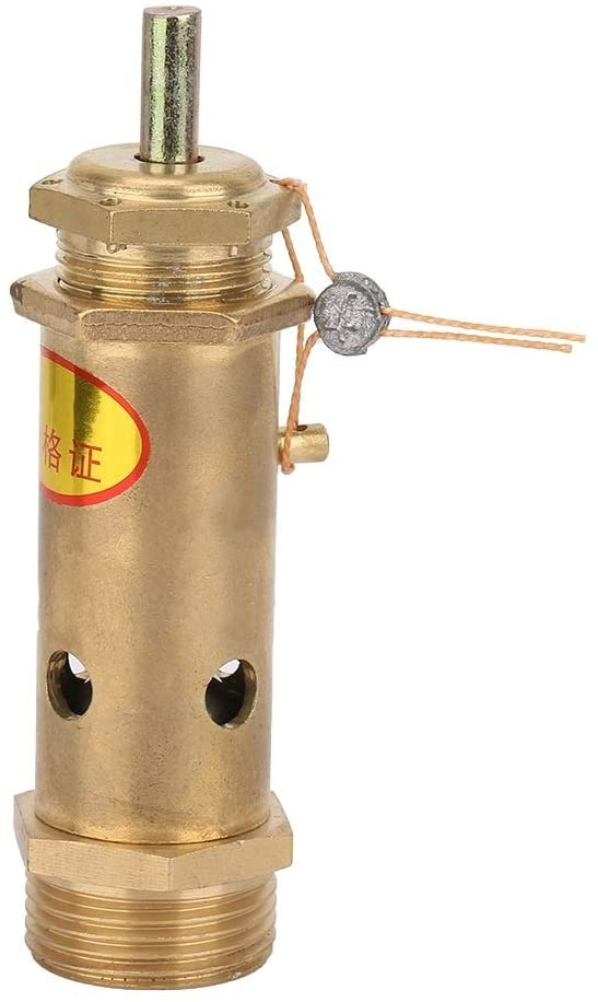 Beennex G3/4 Air Compressor Safety Release Pressure Valve Brass for Boiler Steam Generator(10KG)