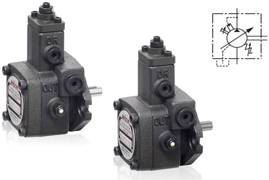 PVF Series Single Variable Vane Pumps PVF-20-20-10 PVF-20-35-10 PVF-20-55-10 PVF-20-70-10 CAST Iron Hydraulic Oil Pump, Low Pressure,Outlet Flow:20L/min,Max Speed:1800rpm (PVF-20-20-10S)