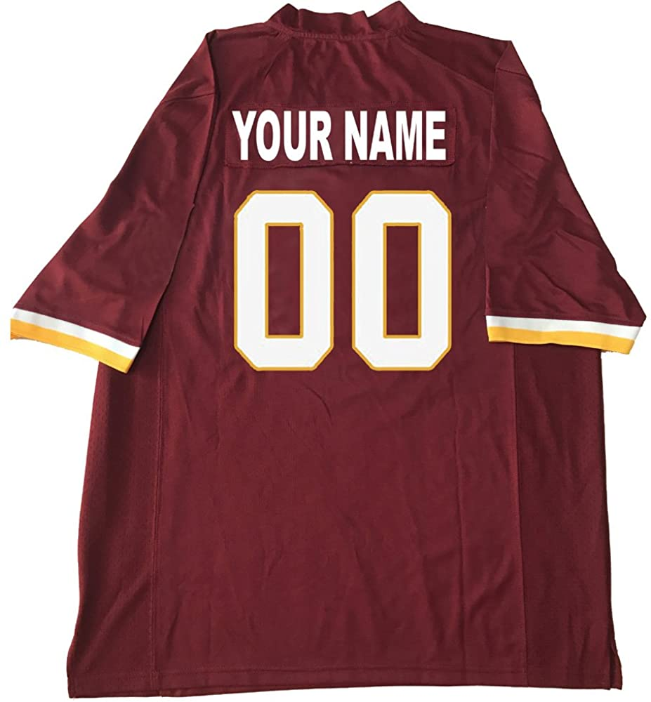 Custom Football Jersey Personalize Any Name and Number for Father's Day,Thanksgiving Interesting Gifts Jerseys