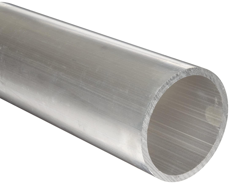 Aluminum 6061-T6 Seamless Round Tubing, ASTM B210, 4