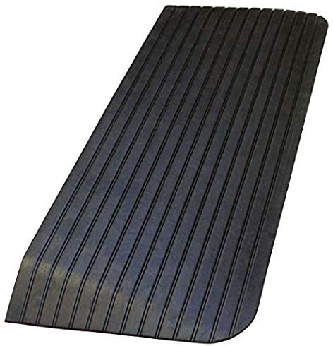 Troy Safety, RTR04, Solid Rubber Power Wheelchair Scooter Threshold Ramp (43