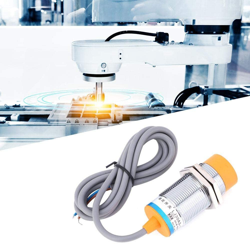 Proximity Sensor Switch, 5PCS 400mA Proximity Switch, Chemical Light Textile Industries Printing Industries for Machine Tool Metallurgy