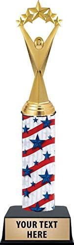 Crown Awards Patriotic Star Trophies - 11