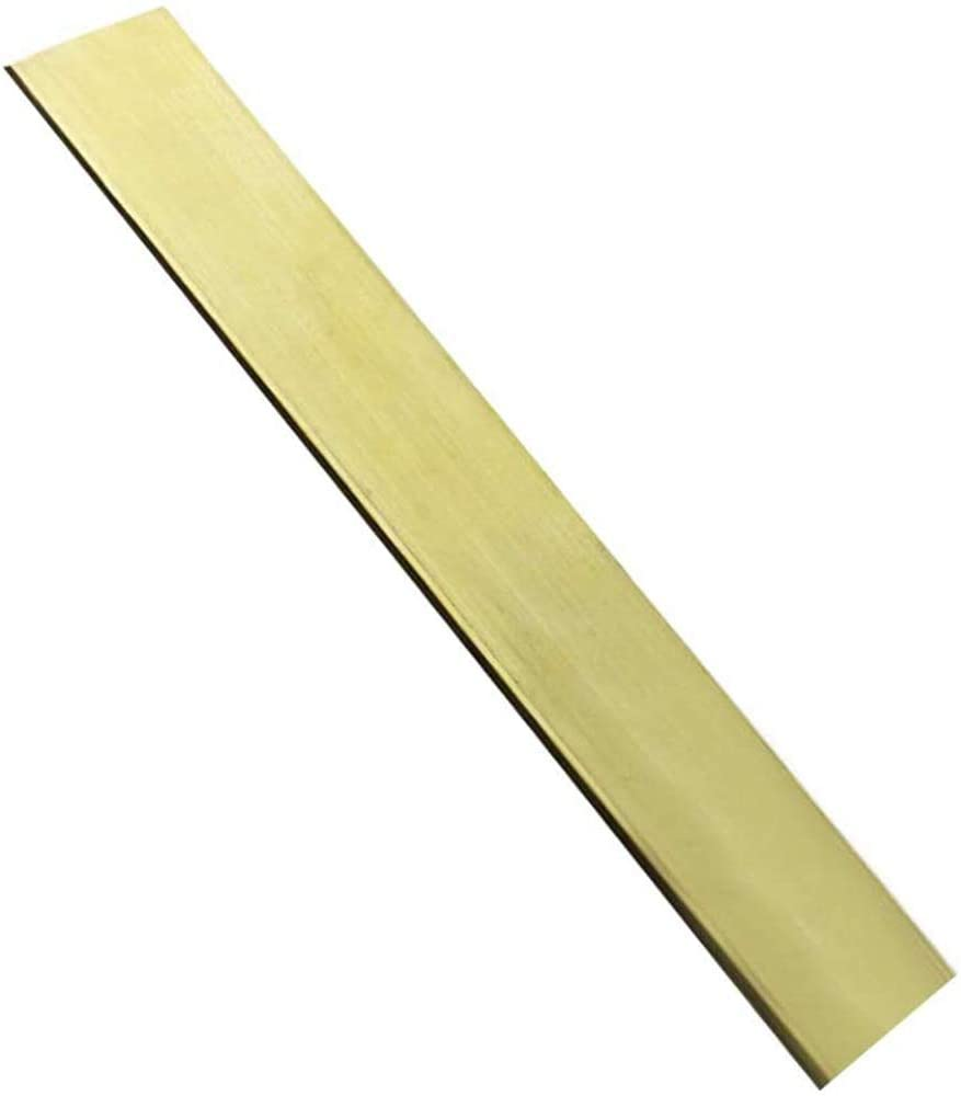 LOKIH H59 Brass Strip bar Have Good Thermal Properties,6mmx10mmx200mm