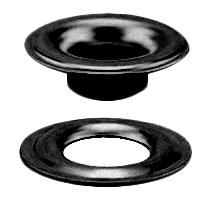 Stimpson Sheet Metal Grommet and Washer Dull Black Chem Durable, Reliable, Heavy-Duty #1 Set (10,000 Pieces of Each)