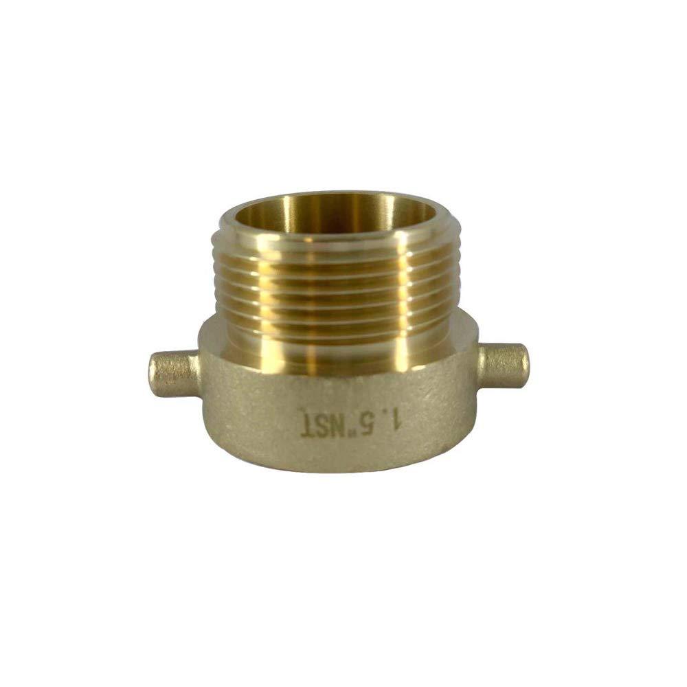 Dixon Valve HA1515F Equiv. Adapter, Brass, 1.5